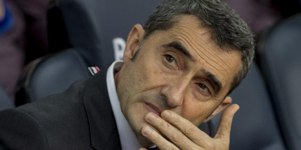 Ketika Waktu Akhirnya Habis Untuk Ernesto Valverde Di Barcelona